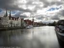 Hafen und Altstadt Lübeck