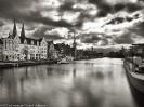 Hafen und Altstadt Lübeck, sw