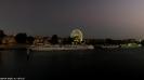 Riesenrad von Avignon bei Nacht