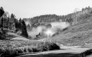Nebel zieht auf im Tal