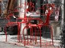 rote Möbel, Bayeux